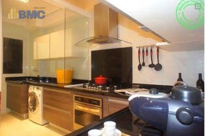 Cobertura Com 3 Dormitórios À Venda, 210 M² Por R$ 1.400.000 - Vila Irmãos Arnoni - São Paulo/sp - Co0054