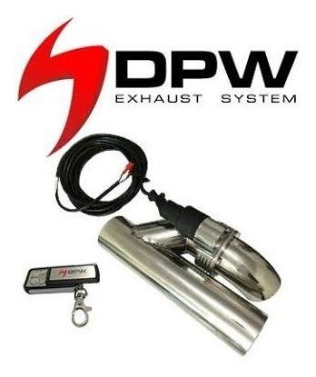 Kit Difusor + Ponteira Dupla + Speed Boster Dpw Jetta