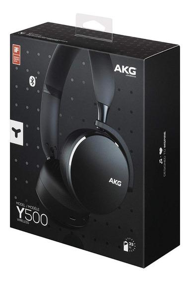 Fone Bluetooth Akg Y500 - Lacrado - Preto