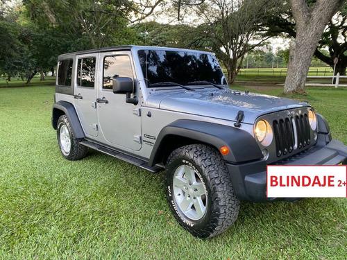 Jeep Wrangler Sport Unlimited Blindado Dos Plus