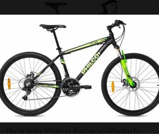 Bicicleta Mountain Bike Philco 26 Cuadro Aluminio Escape