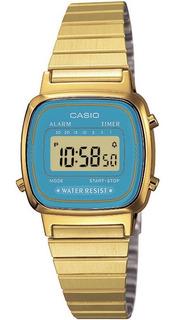 Reloj Casio Retro Vintage La670wga2df Mujer | Agente Oficial