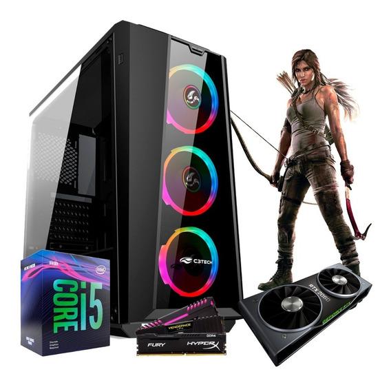 Pc Gamer I5 9400f B360m Rtx 2060 6gb Ram 8gb G800bk Ssd 240