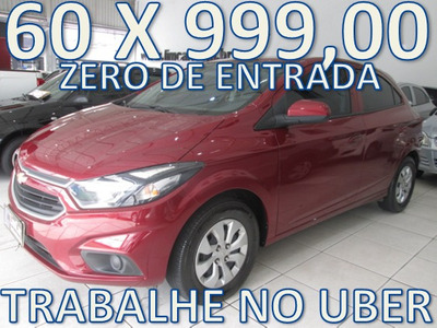 Chevrolet Onix Lt Zero De Entrada + 60 X 999,00 Fixas