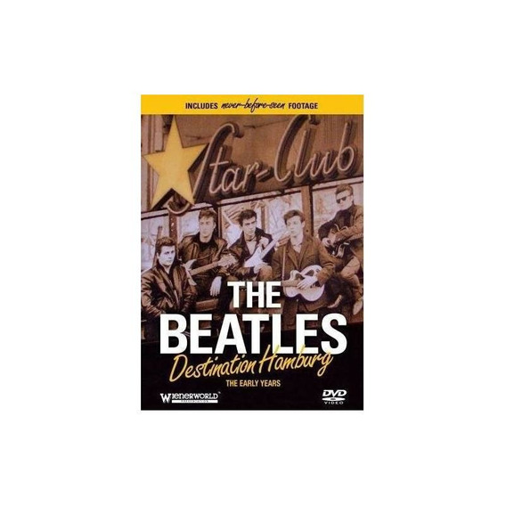 Beatles Destination Hamburg Usa Import Dvd Nuevo