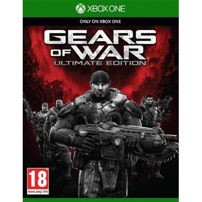 Jogo Gears Of War Ultimate Edition Xbox One Mídiafísica