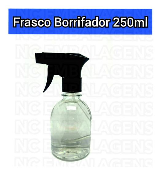 30 Peças Frascos Pet 250ml C/ Tampa Borrifador Home Spray