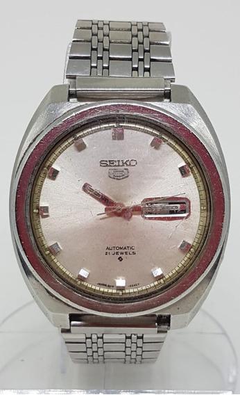 Relogio Vintage De Pulso Seiko 5 6119 8273 40x45 Mm Automat
