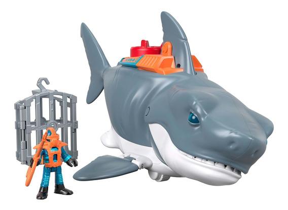 Imaginext Sharks Tiburón Mega Mordida