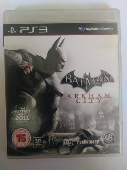Jogo Batman Arkham City Ps3 Mídia Física Completo R$39,80