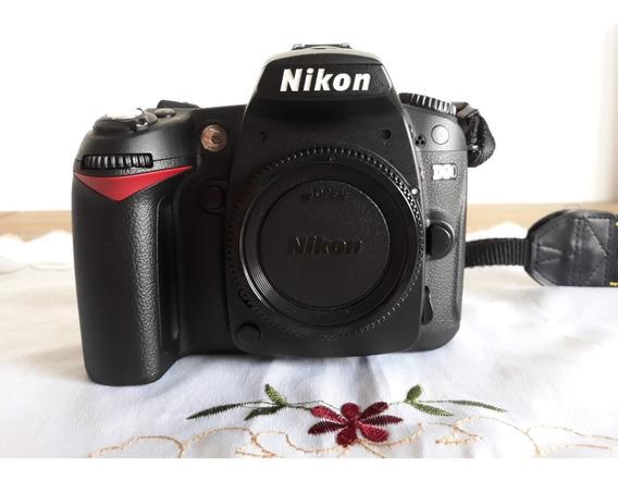 Câmera Nikon D90 Dslr 12600 Clicks Impecável + Acessórios