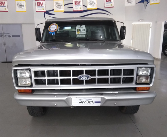 Ford F-1000 3.9 Super Série Cs 8v Diesel 2p Manual