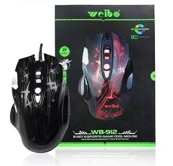 Mouse Gamer Weibo Wb-912