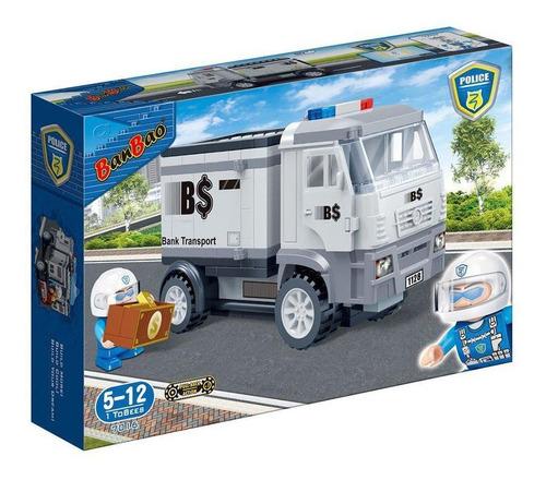 Polícia Transporte De Dinheiro Blocos De Montar 158 Pçs.