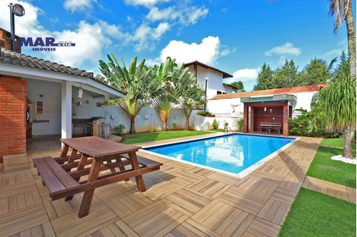 Casa Com 4 Dormitórios À Venda, 350 M² Por R$ 1.798.000,00 - Acapulco - Guarujá/sp - Ca0783