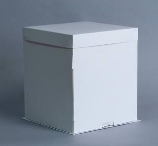 Caja Base Bandeja + Tapa 26x26x30 Cm (x50 U.) Tortas Altas Drip - 145 Bauletto