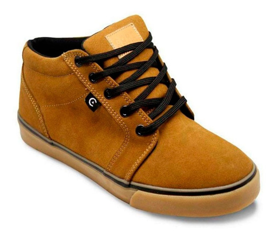 Tenis Core Smith High Camel 175135