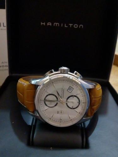 Reloj Hamilton Jazzmaster Chrono Automático Valjoux 7750