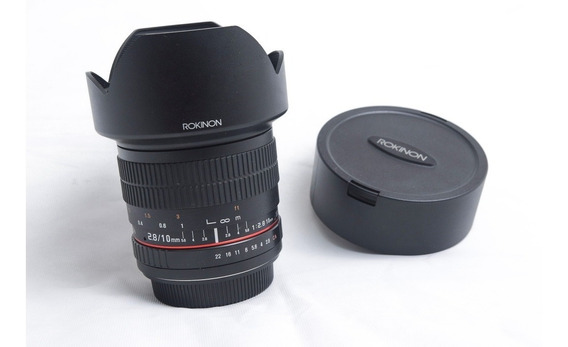 Rokinon 10mm F/2.8 Ed As Ncs Cs Para Canon Ef - R$: 1800