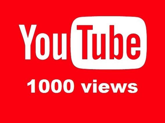 1000 Viwers Youtube Visualizações Youtbe