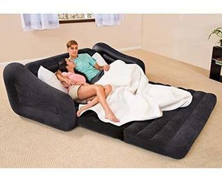 Inflable Sillon Cama Premium Puff Sofa Queen Envio Gratis