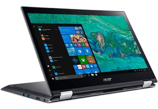 Laptop Acer Spin 3 Core I3-7020u 4gb, 1tb Optane 14.1 Win 10