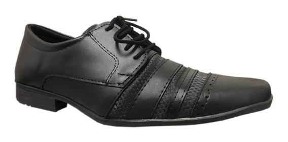 Sapato Sociais Atacado Uniforme Para Porteiros Cadarço Fosco