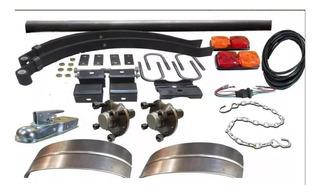 Kit Para Trailer 650 Kg Completo Kit 26 Envio Gratis 1 Bulto