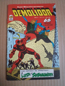 Gibi Do Demolidor Nº 13 Editora Bloch Marvel