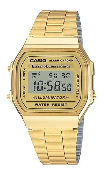 Relógio Casio Vintage Unisex A168wg-9wdf