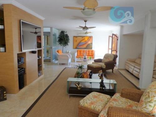 Imagem 1 de 25 de Casa À Venda Condomínio Frente Ao Mar Praia Da Enseada - Guarujá - Ca0084