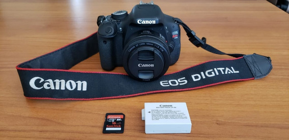 Canon T3i + Canon Ef 50mm 1.8mm
