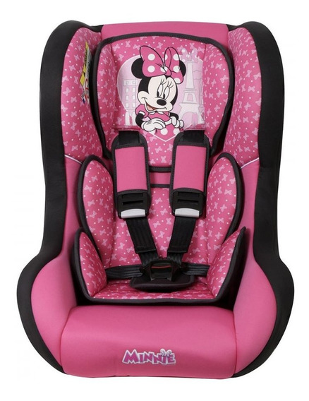 Cadeirinha Para Auto Disney Trio Sp Paris Minnie Mouse