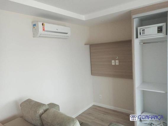 Flat Com 1 Dormitório Para Alugar, 30 M² Por R$ 1.300/mês - Campo Grande - Rio De Janeiro/rj - Fl0001