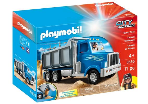 Playmobil City Action Camion Volcador 5665