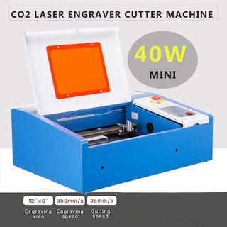 Actualizado 40w Co2 Láser Grabador Corte Máquina Artesa-6883