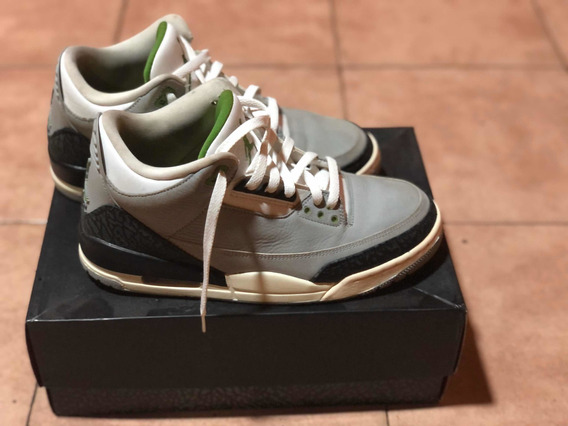 Zapatillas Jordan 3 Clorophyll