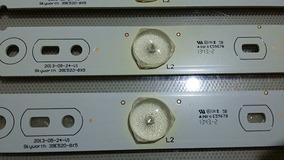 Barra Led Tv Semp Dl3977i (a) | Kit 8 Un.