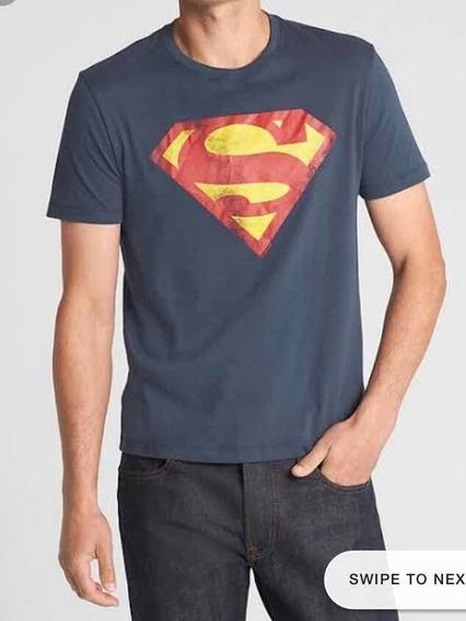 Camiseta Do Superman Da Gap Original Tamanho G