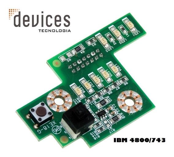 Botão Power Ibm 4800/743 Fru: 80y6744 /531e1806-r
