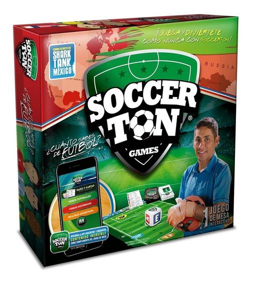 Juego Mesa Fútbol Trivia Interactiva Soccerton Games
