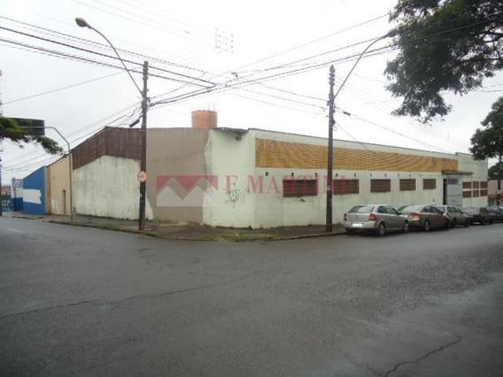 Barracão Comercial Para Locação, Paulicéia, Piracicaba. - Ba0014