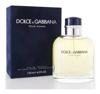 Perfume Dolce Gabbana Pour Homme Edt 125ml Original Lacrado