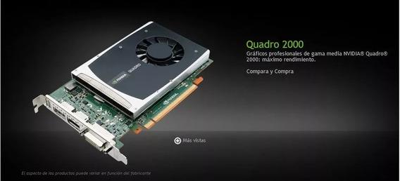 Tarjeta De Video Nvidia Quadro 2000 1gb Ddr5 Acepto Cripto