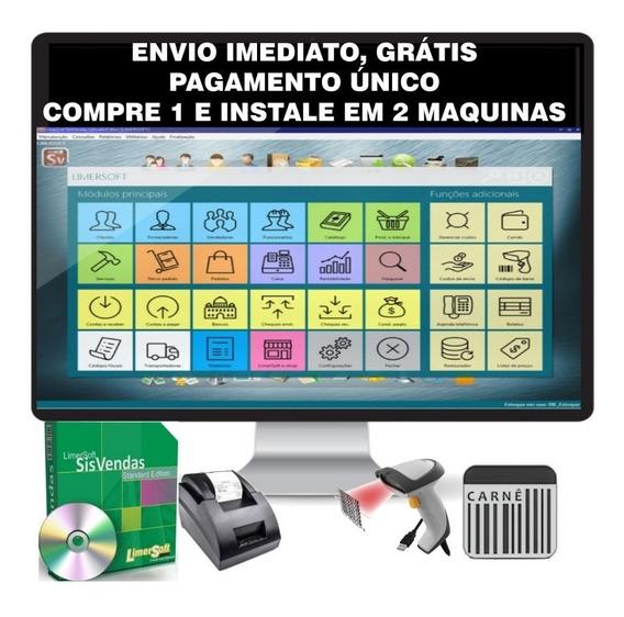 Software Comercial, Controle Estoque, Sistema Pdv Vendas Erp