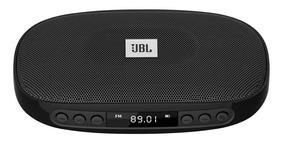 Caixa De Som Portatil Jbl Tune Com Radio Fm Bluetooth Preta