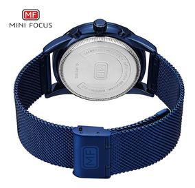 Mini Focus Mf0180g Reloj De Hombre Reloj De Cuarzo Correa De