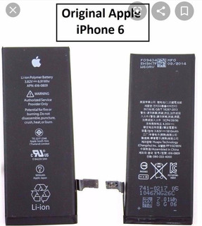 Batería Pila Para iPhone 6 /6s, 100% Original , Nueva