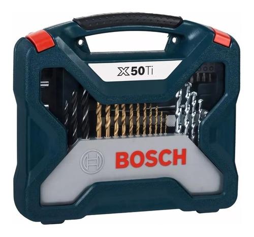 Imagen 1 de 7 de Juego Set Kit Mechas Puntas Bosch 50 Piezas En Caja