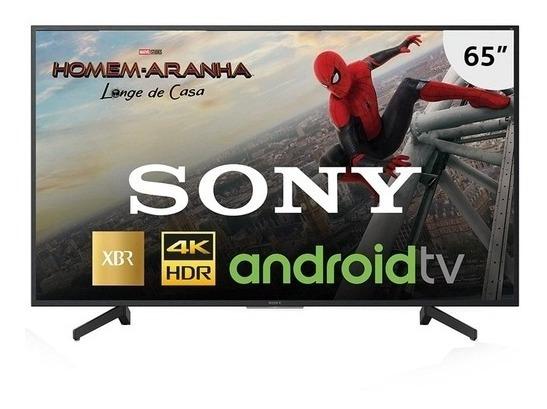 Tv Led 4k Sony 65 Xbr-65x805g Smart, Com Pesquisa De Voz